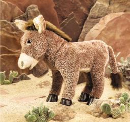 donkey puppet large
