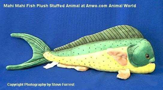 Mahi Mahi Fish Plush Stuffed Animal Toy