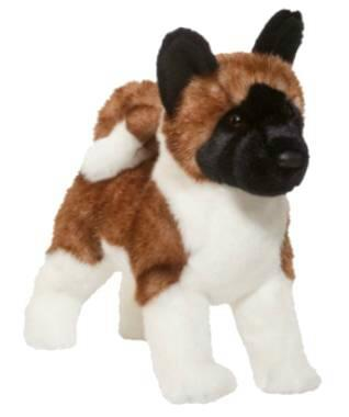 Akita plush stuffed animal toy quot kita quot at anwo com animal world