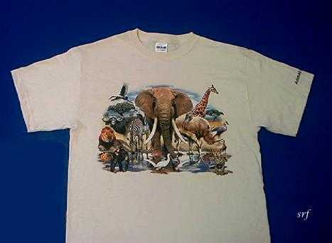 Animal World 174 T Shirt Adult And Youth Sizes Usa At Animal