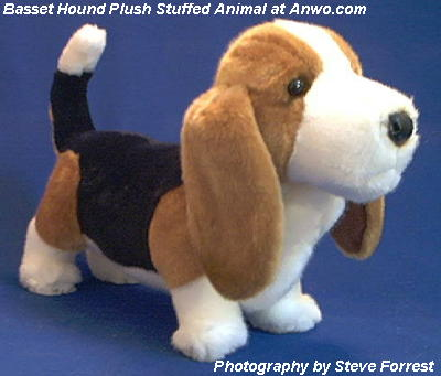 Basset Hound Plush Stuffed Animal Toy Harold At Anwo Animal World