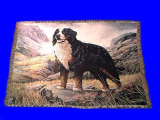 Bernese Mountain Dog Blanket Throw Tapestry At Anwo Com Animal World 174
