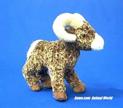 Big Horn Sheep Plush Stuffed Animal Climber Anwo Animal World