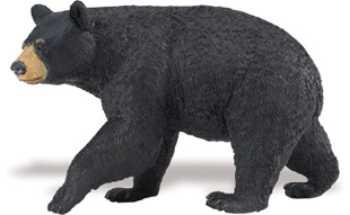 Black Bear Toy Miniature At Animal World 174