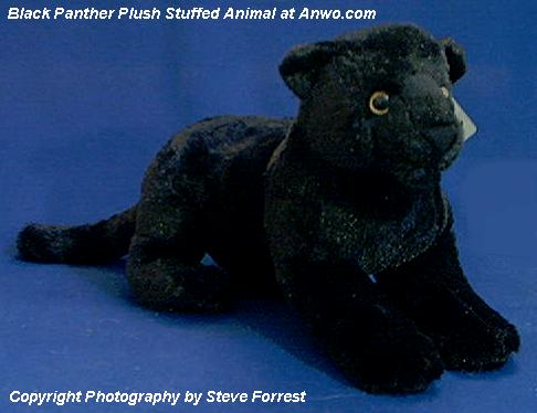 Black Panther Stuffed Animal Plush At Animal World