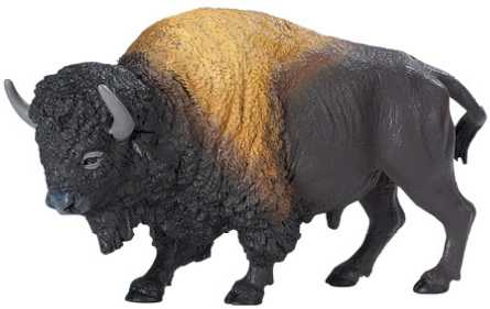 Buffalo Toy Miniature Replica Bison At Anwo Com Animal World 174