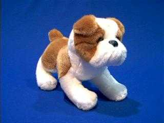 Bulldog Stuffed Animal Plush Norman At Animal World