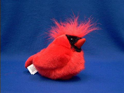Cardinal Stuffed Animal Plush Bird W Sound At Anwo Com Animal World