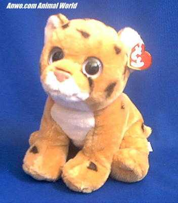 Cheetah Stuffed Animal Plush Ty Serengeti At Anwo Com Animal World