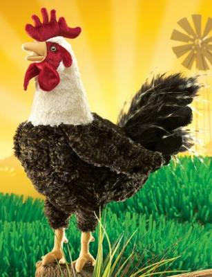 chicken rooster puppet