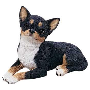 Tri Color Chihuahua Figurine Statue Sandicast 174 Os249