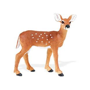 Deer Toy Fawn Miniature Figurine At Animal World 174