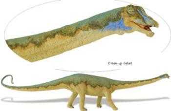 diplodocus toy dinosaur at animal world174