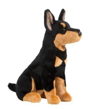 Doberman Pinscher Plush Stuffed Animal Dobie Puppy At Anwo Com