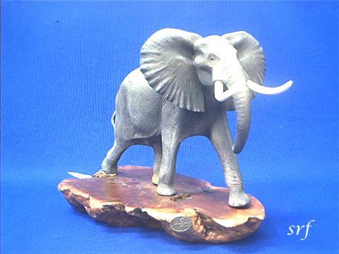 elephant figurine john perry