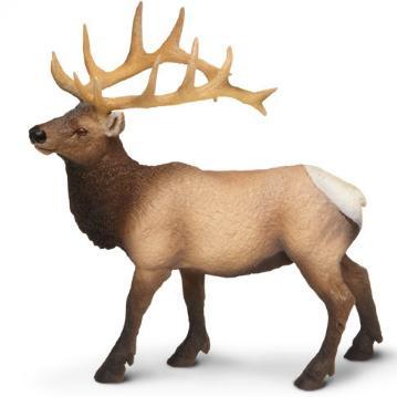 Elk Toy Miniature Replica Bull Elk at Animal World®