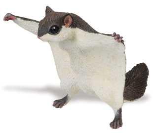 Stuffed Flying Squirrel Dog Toy