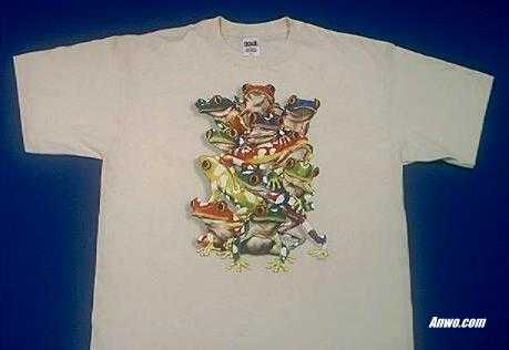 Tropical Frogs T Shirt Adult And Youth Sizes Usa At Animal