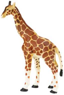 Giraffe Toy Miniature Replica Standing At Animal World 174