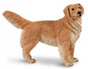 Golden Retriever Toy Replica Adult At Animal World