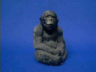 Gorilla Figurine Sandicast Ss4004 Small Size At Animal World 174