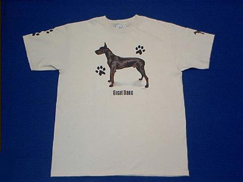 Black Great Dane T Shirt At Animal World 174