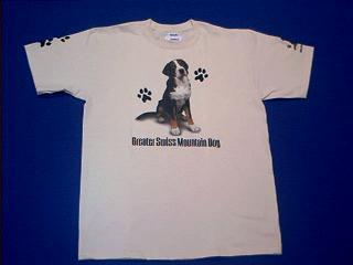 Greater Swiss Mountain Dog T Shirt At Animal World