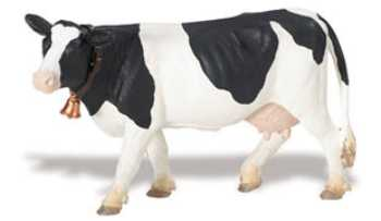 Holstein Cow Toy Miniature at Animal World®