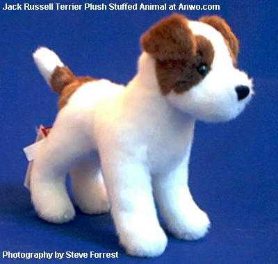 Jack Russell Terrier Stuffed Animal Plush Small Toy Dog