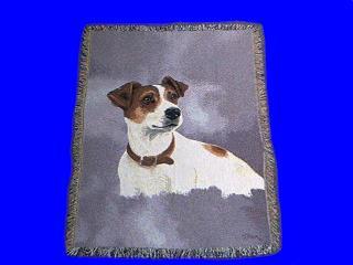 jack russell terrier blanket throw tapestry