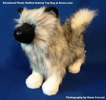 Keeshond Plush Stuffed Animal Toy Dog