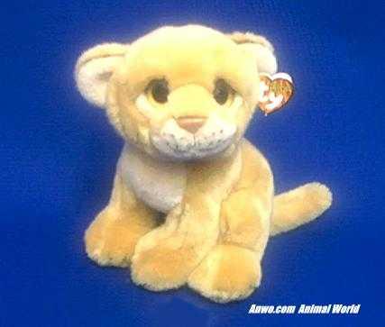Lion Cub Stuffed Animal Plush Ty Savannah At Anwo Com Animal World