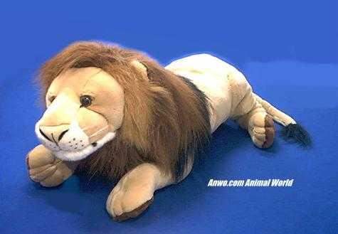 Large Lion Plush Stuffed Animal Jumbo At Animal World