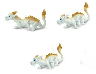 lucky dragon toy mini good luck miniature replica