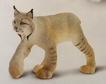 Lynx Toy Miniature Replica Anwo
