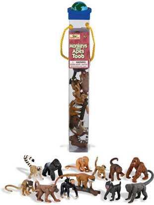 Monkeys Toys Tube Assortment At Animal World 174