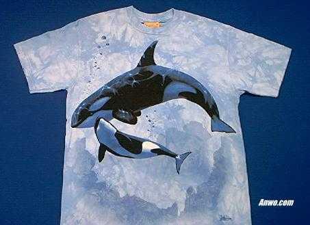 orca t shirt family