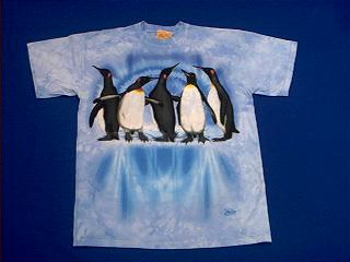 penguin t shirt child x large at animal world. Black Bedroom Furniture Sets. Home Design Ideas