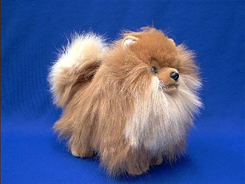 Pomeranian Stuffed Animal Plush At Animal World 174