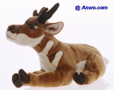 Pronghorn Antelope Plush Stuffed Animal Toy At Anwo Animal