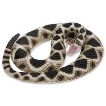 Rattlesnake Toy Lifesize Replica At Animal World 174