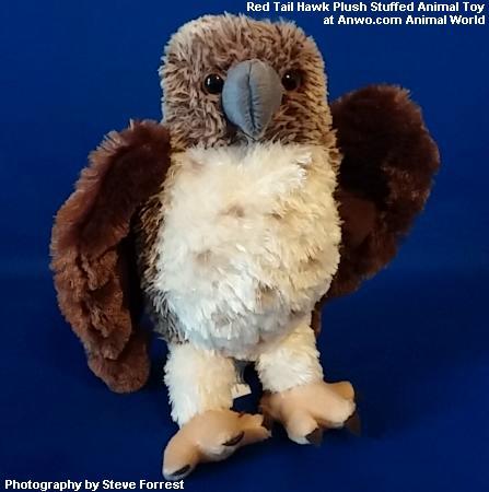 Red Tail Hawk Stuffed Animal Plush Toy Bird At Animal World