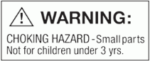 safari toys product warning