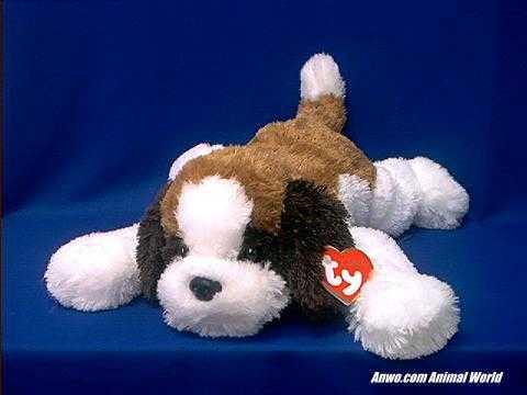 Saint Bernard Plush Stuffed Animal Ty Yodels At Animal World 174