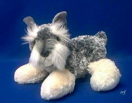 Schnauzer Stuffed Animal Plush Fritz At Animal World 174