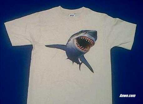 Great White Shark T Shirt Adult and Youth Sizes by Animal World®
