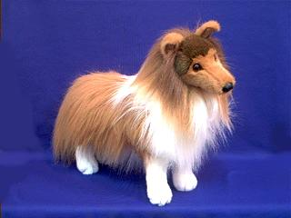 Sheltie Stuffed Animal Plush Large Shetland Sheepdog At Animal World