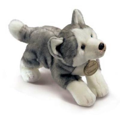stuffed animal siberian husky nanook