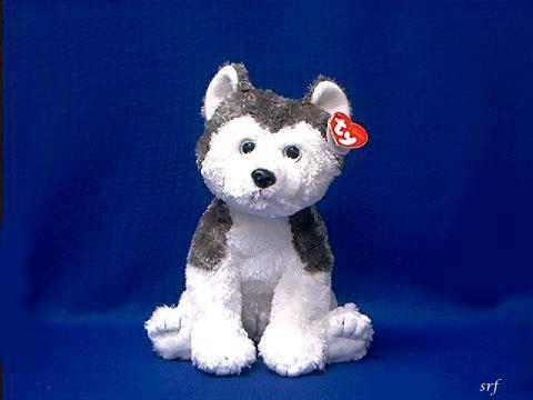 Siberian Husky Stuffed Animal Plush Ty Slush At Animal World