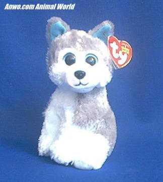 Siberian Husky Ty Beanie Baby Sledder Stuffed Plush At Animal World
